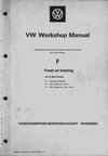 VW Workshop Maual Freshair Heating - BN2 BN4 - 1969